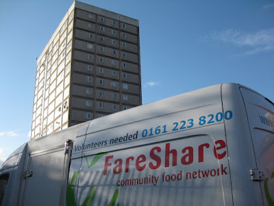 FareShare Food Distribution Van