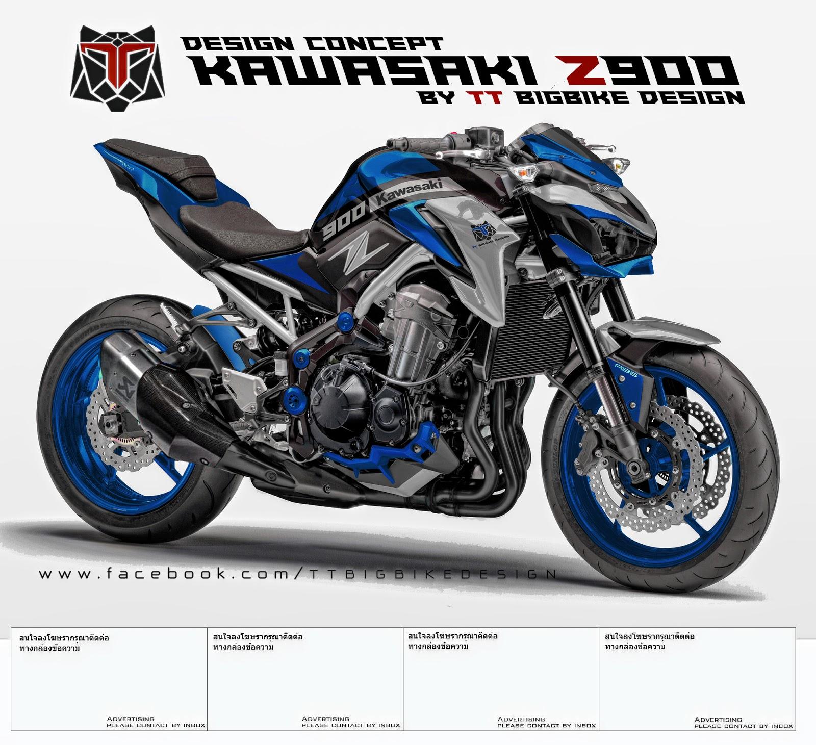 KAWASAKI Z900 DESIGN CONCEPT 1