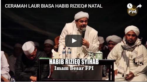 Inilah Video Habib Rizieq yang Dilaporkan PMKRI