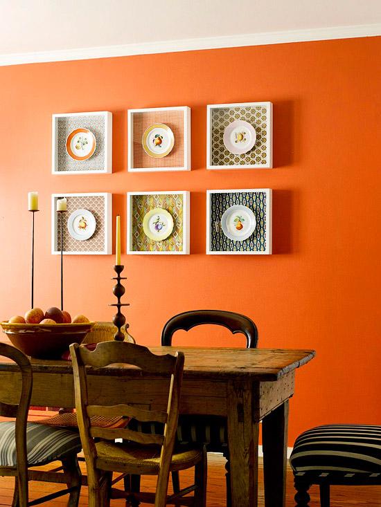 DIY Dining Room Wall Art