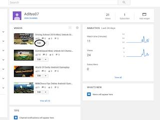 cara menambahkan Thumbnail youtube