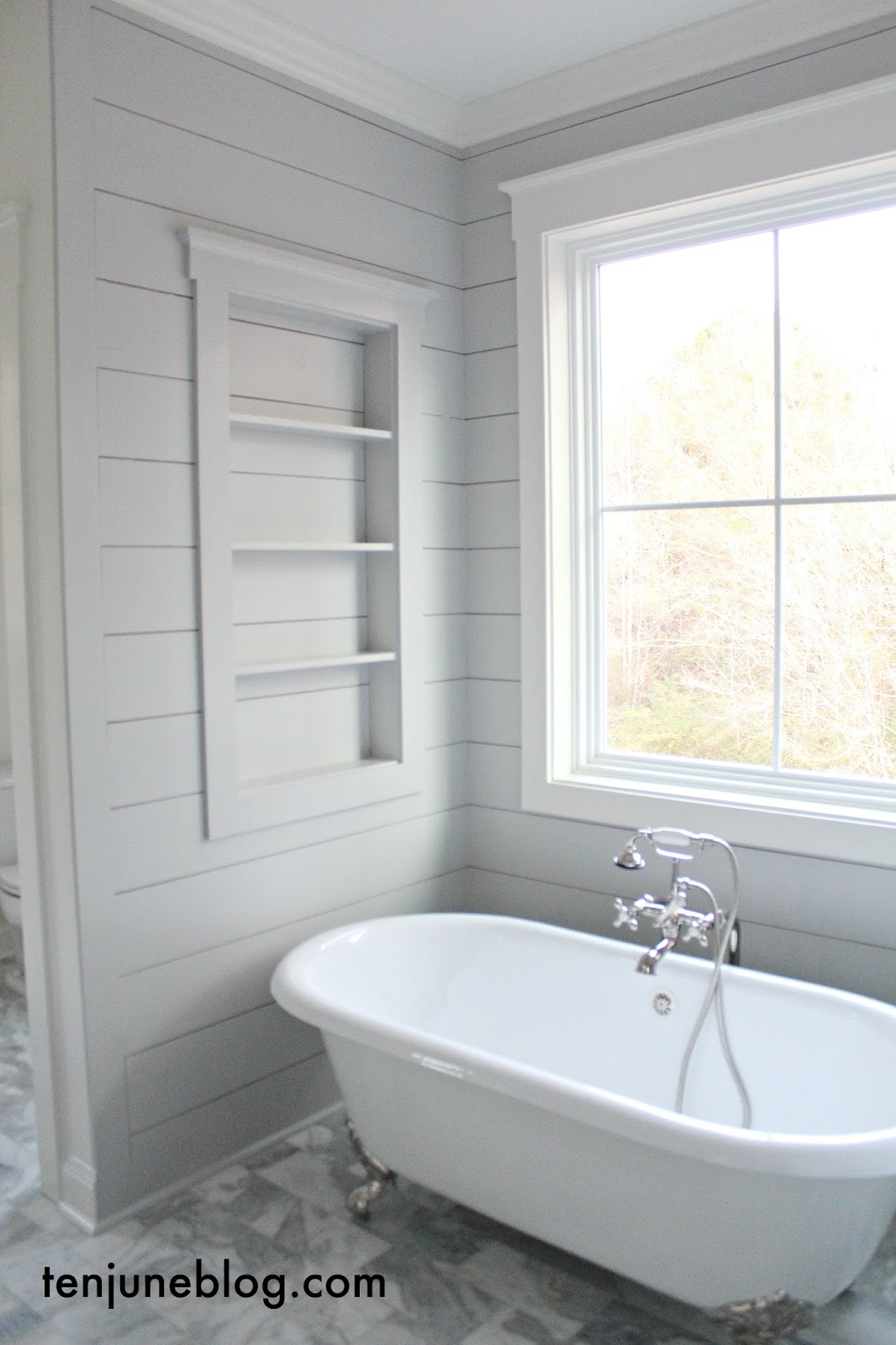 Ten June: The Farmhouse: A Tour of the Master Bathroom