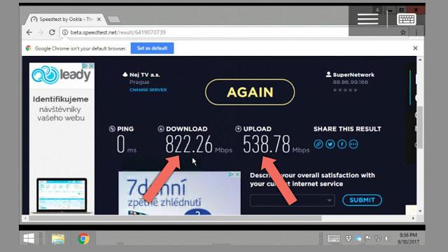 احصل على انترنت بسرعة تفوق 800Mbs في الثانية في هاتف الأندرويد مجاناً ومدى الحياة + حاسوب افتراضي لتخزين بياناتك