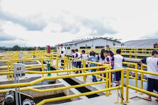 Cerca de 800 estudantes de Registro-SP visitam a Estação de Tratamento de Água do município