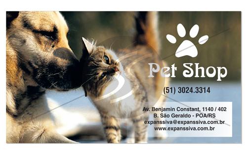cartao de visita pet shop 14 - Cartões de Visita Pet Shop