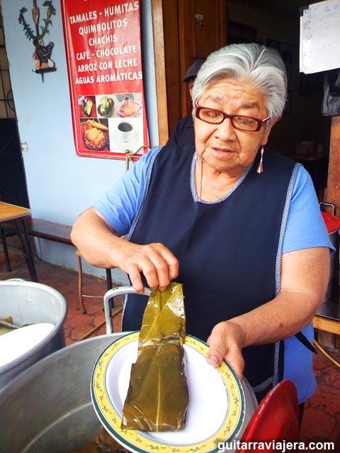Cuenca Ecuador - Tamales