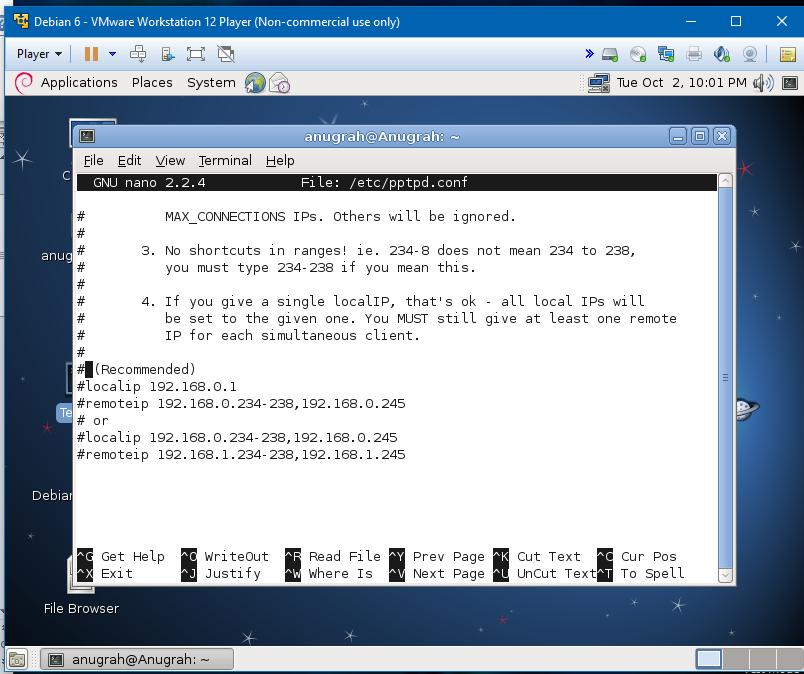 Cara konfigurasi vpn debian 6