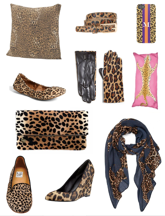 leopard print for home and fashion accessories