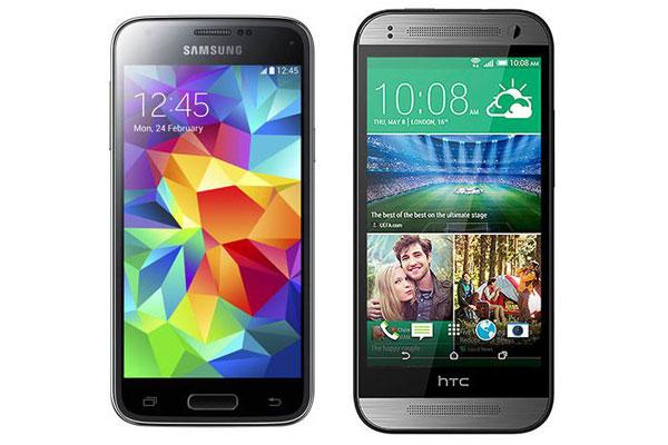 Samsung Galaxy S5 mini vs HTC One mini 2