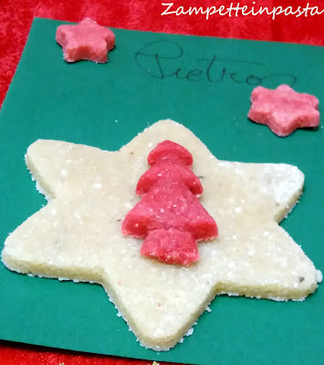 Segnaposti natalizi commestibili al marzapane - Ricetta marzapane