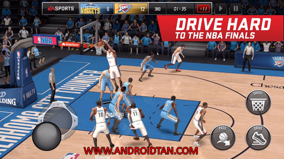 NBA Live Mobile Mod Apk Money