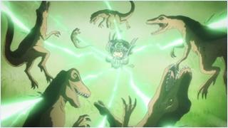 แรมโบ้จัดการไดโนเสาร์ของคิเคียว