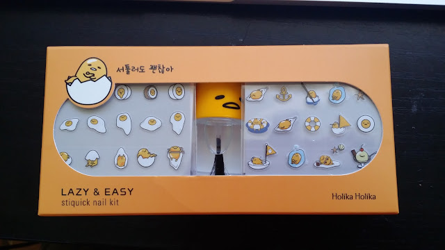 lazy and easy holika holika collaboration nail kit art