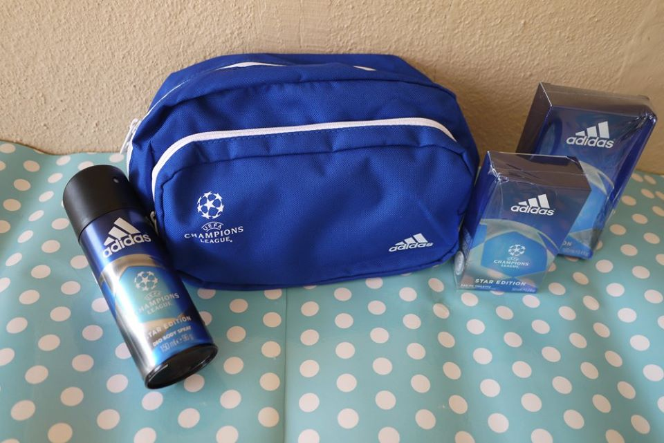 74793335b941 The Beauty Junkie - ranechin.com   Men  adidas UEFA Champions League Star  Edition Body Care Range