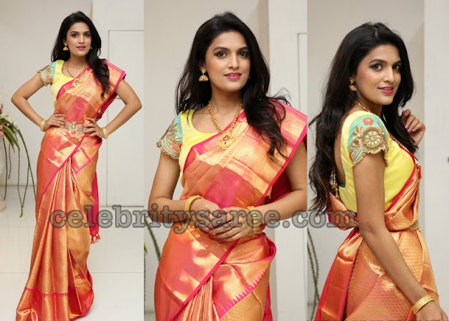 Ritu Biradar Brocade Silk Saree