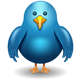 Add twitter bird on blog, twitter bird widget for blogger, cute animated twitter bird