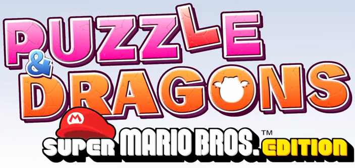 Puzzle & Dragons Super Mario Bros. Edition logo