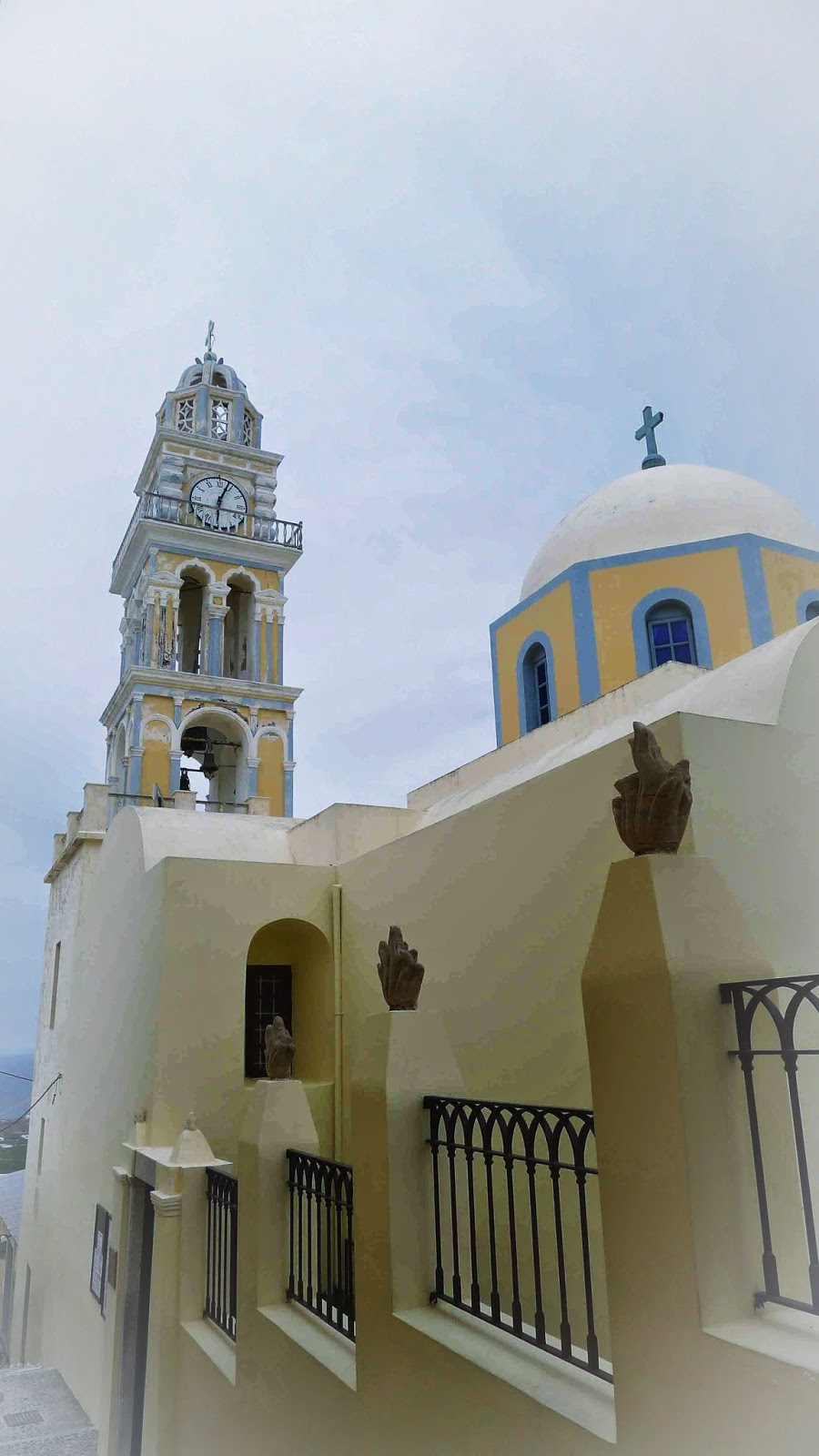 Cathedral of St. John the Baptist Santorini