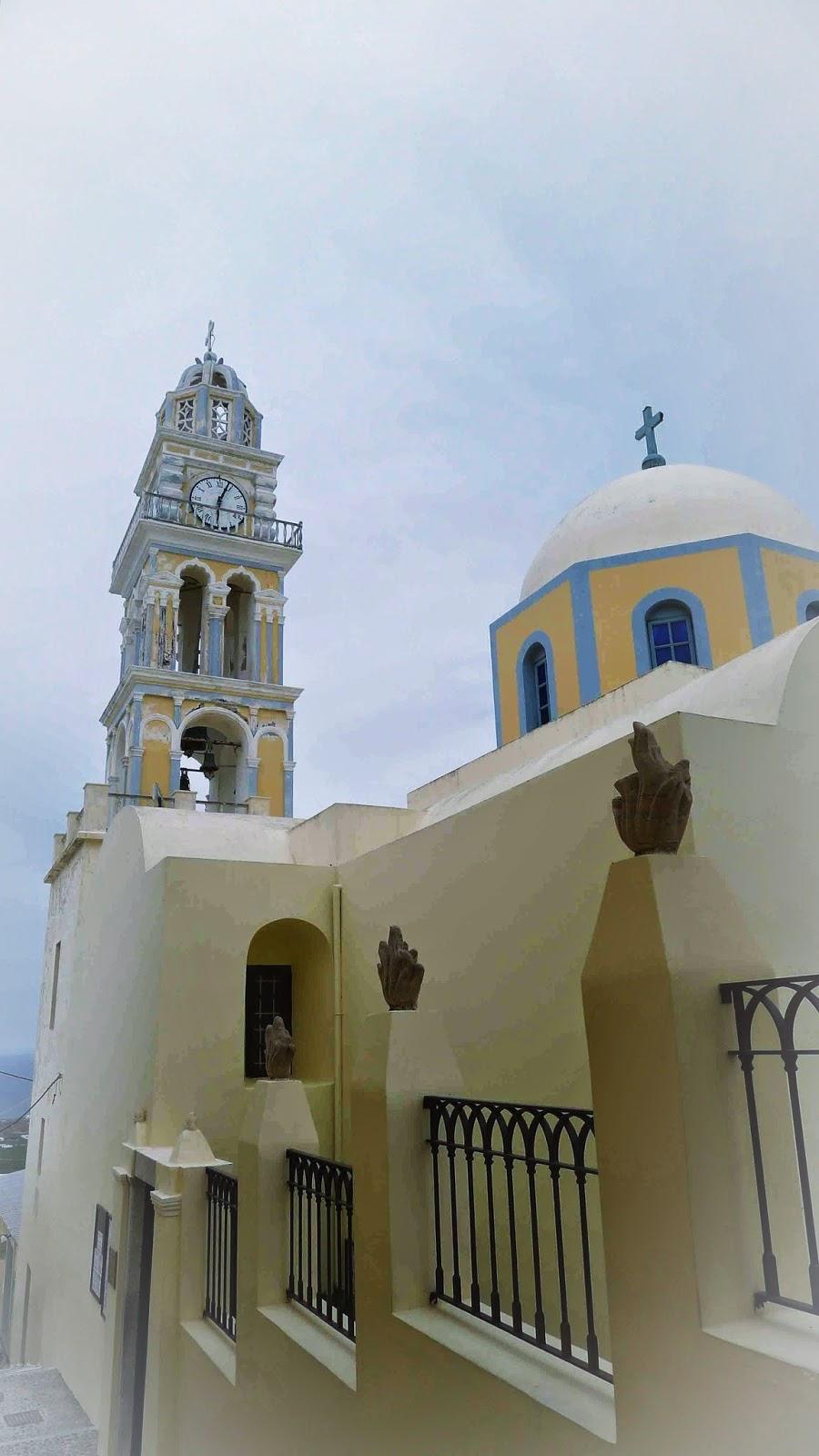 Cathedral of St. John the Baptist Santorini