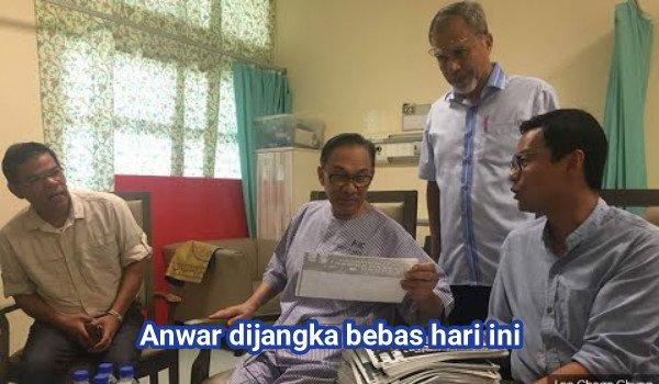 Anwar dijangka bebas hari ini