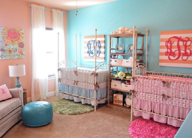 Dormitorios para bebes gemelos o mellizos - Dormitorios ninos segunda mano ...