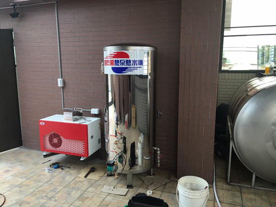 現代裝潢、配備注重節能環保,自然風熱泵熱水器榮登優選NO.1~
