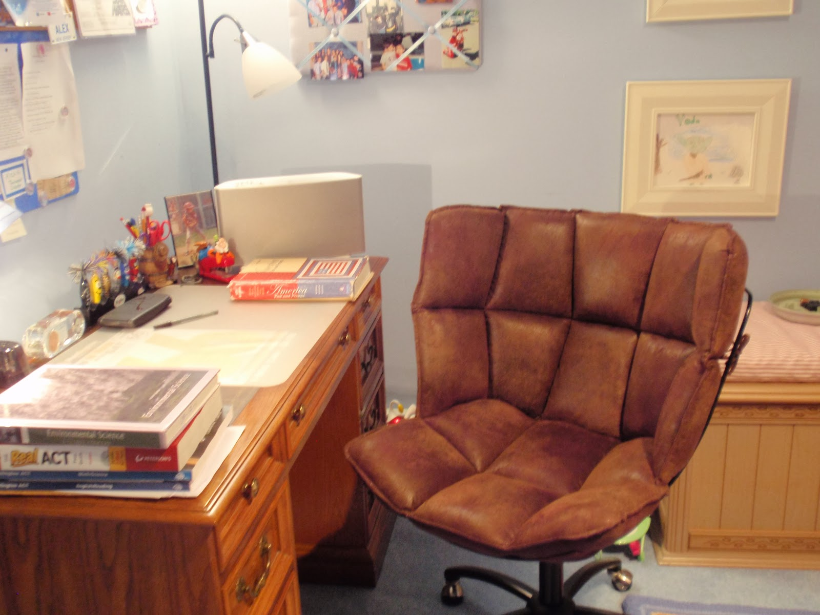 desk chair diy leather arm by design coolest ever