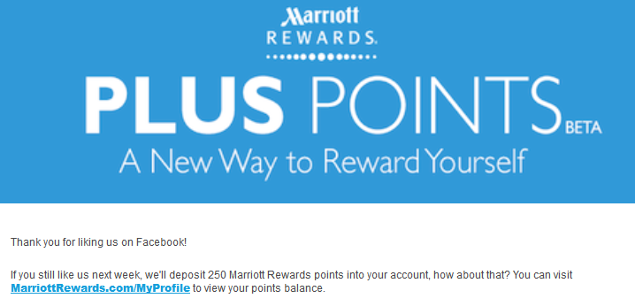 Marriott Rewards promocja hotelowa Plus Points