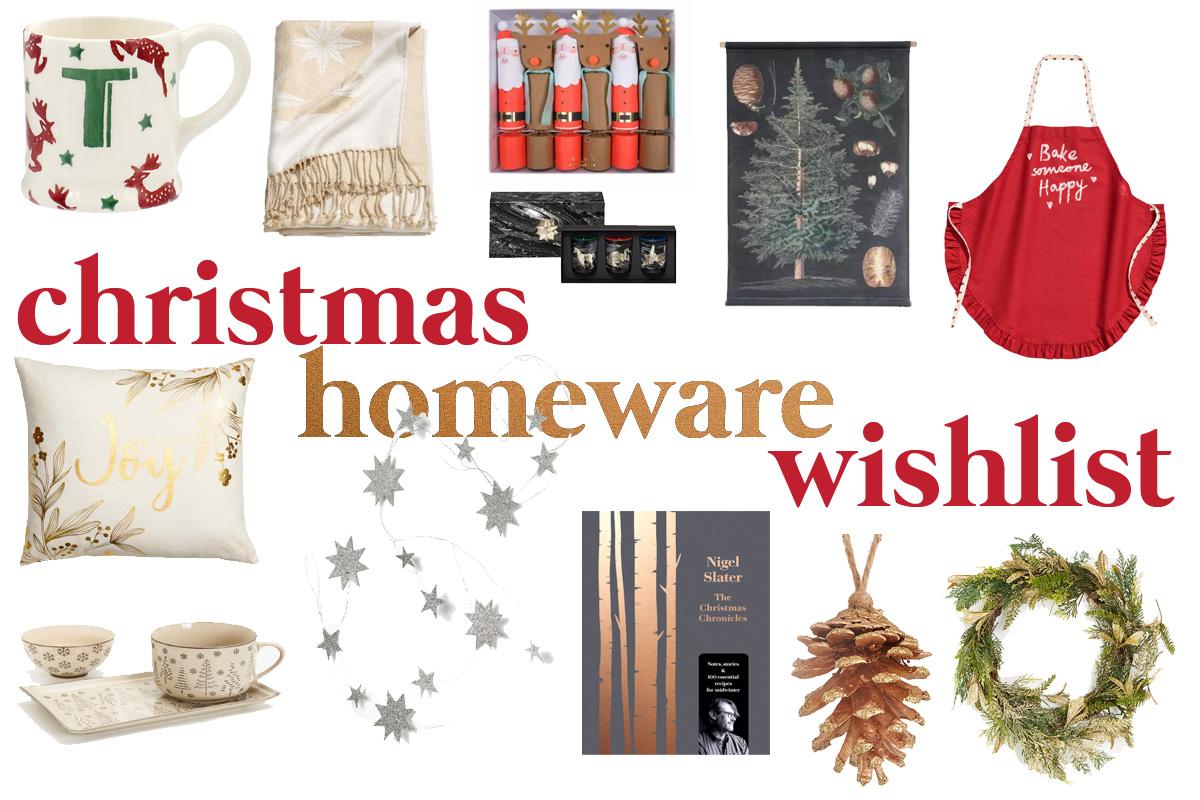 Christmas Homeware Wishlist | The Guilty Girl