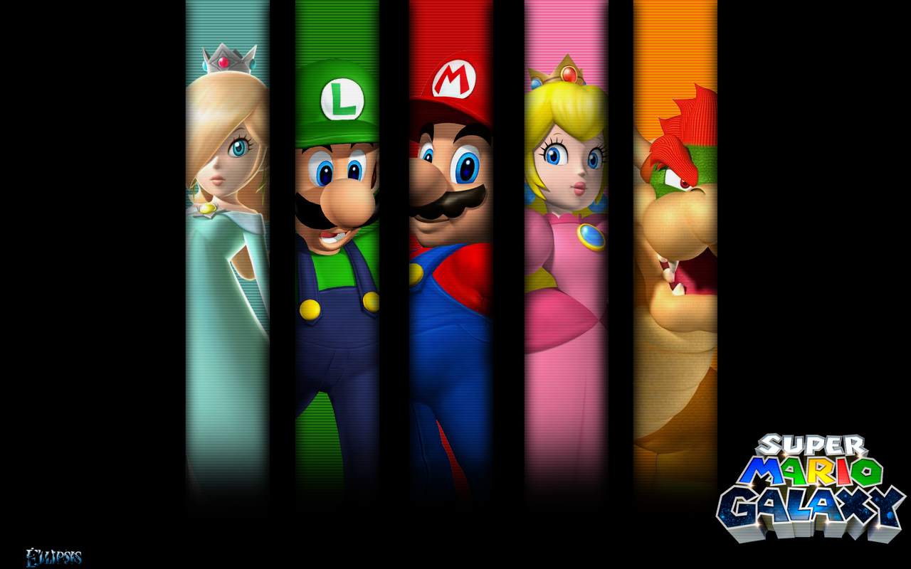 Super Mario Galaxy Wallpapers: Wallpaper Pictures Gallery
