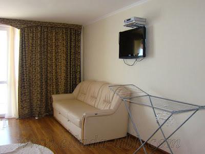 1-комнатные частные апартаменты отельного комплекса в Семидворье (вариант 5)