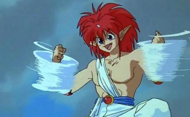 Jin (Yu-yu Hakusho) - Top Strongest Anime Character Who Wield Power of Wind/Air