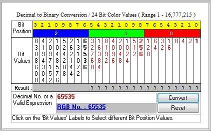 Rgb to binary image converter online