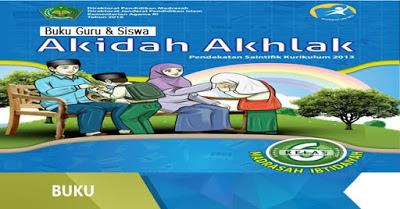 Buku Aqidah Akhlak Kelas 1,2,3,4,5,6 MI Kurikulum 2013 Terbaru