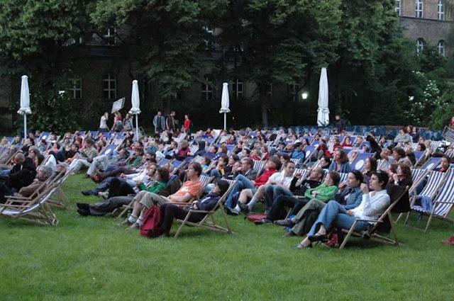 Cinema ao ar livre em Berlim