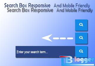 Search Box Responsive dan Mobile Friendly keren
