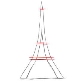 Passion Tour Eiffel Comment Dessiner La Tour Eiffel