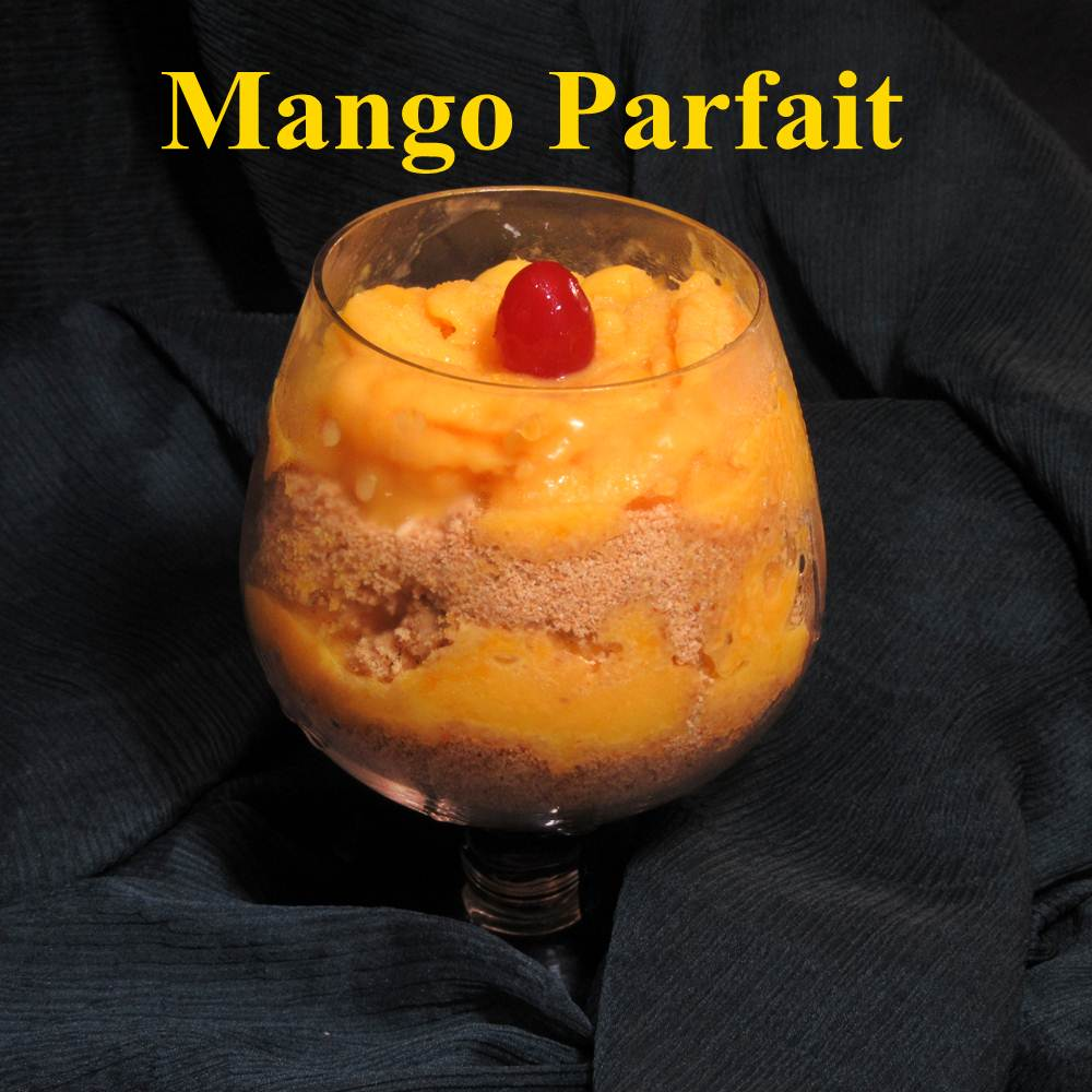Boni's Healthy Twists: Mango Parfait