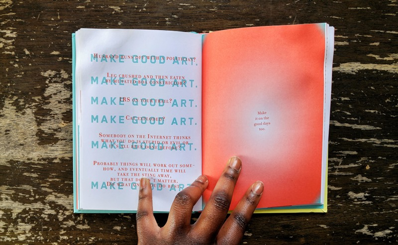 #MsBookworm Review: Make Good Art by Neil Gaiman