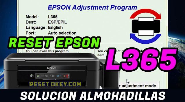 Problema de Almohadilla EPSON L365 ? - Solución