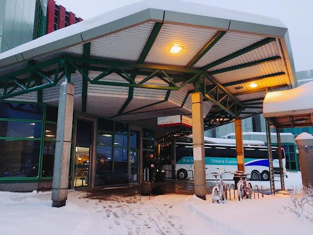 Québec City's Gare du Palais