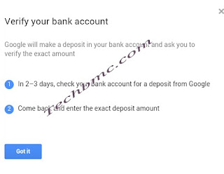 Google adsense payment to payoneer Techbmc.com