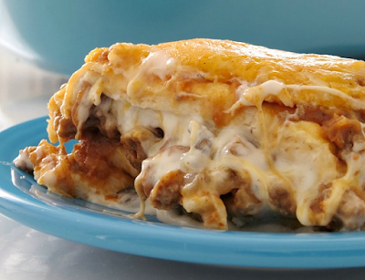 BAKED BURRITO CASSEROLE RECIPE #mexican #food