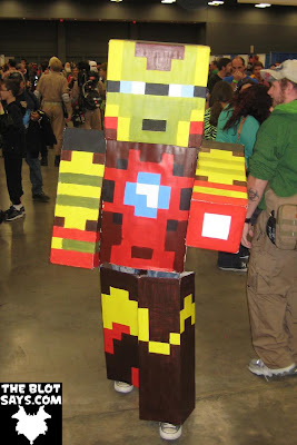 Wizard World Austin Comic-Con 2012 - Minecraft Iron Man