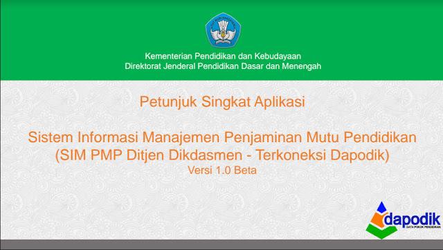Panduan Aplikasi Penjaminan Mutu Pendidikan Tahun 2016 Format PDF