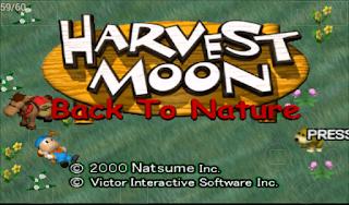 Resep Lengkap Harvest Moon Back To Nature.