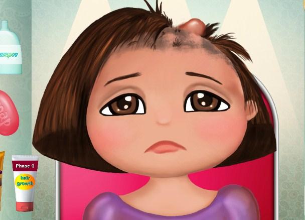 Dora Hair Care game