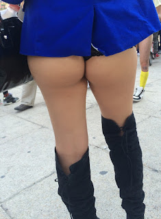 sexy mexicana calle tanga