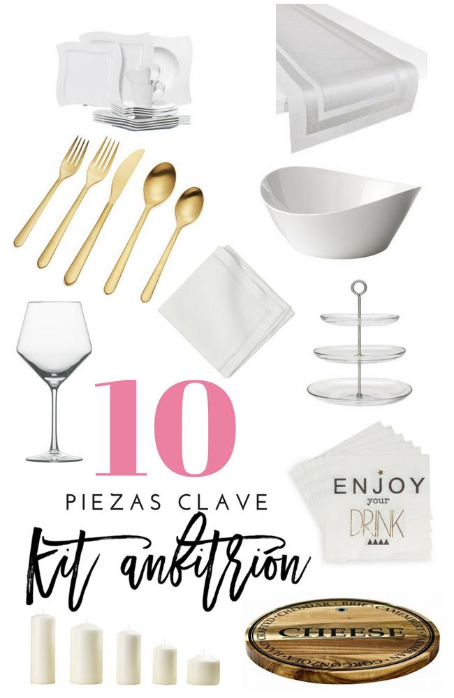 10 piezas clave kit de anfitrión