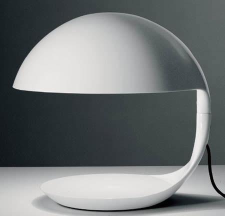 Design Lampu Meja Futuristik